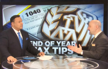 End of Year 2018 Tax Tips – CBS Evening News Interview