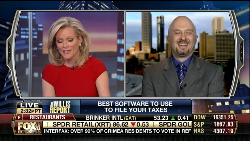 Best Online Tax Software – FOX Business Network Interview